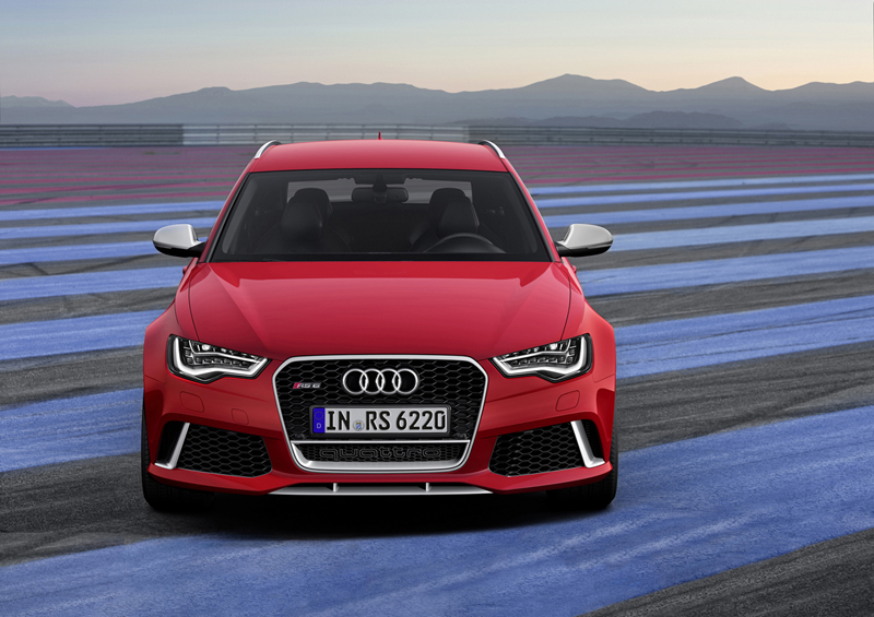 Foto Delantera Audi Rs6 Familiar 2012