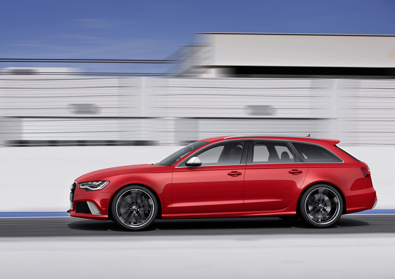 Foto Lateral Audi Rs6 Familiar 2012