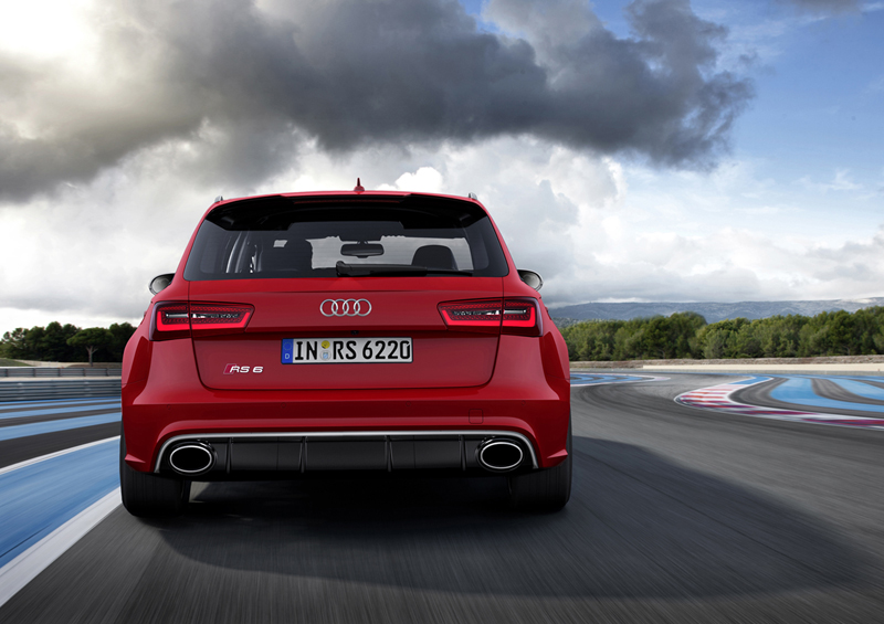 Foto Trasera Audi Rs6 Familiar 2012