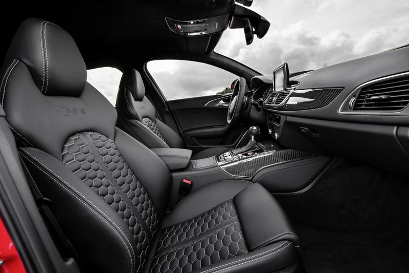 Foto Interior Audi Rs6 Familiar 2014