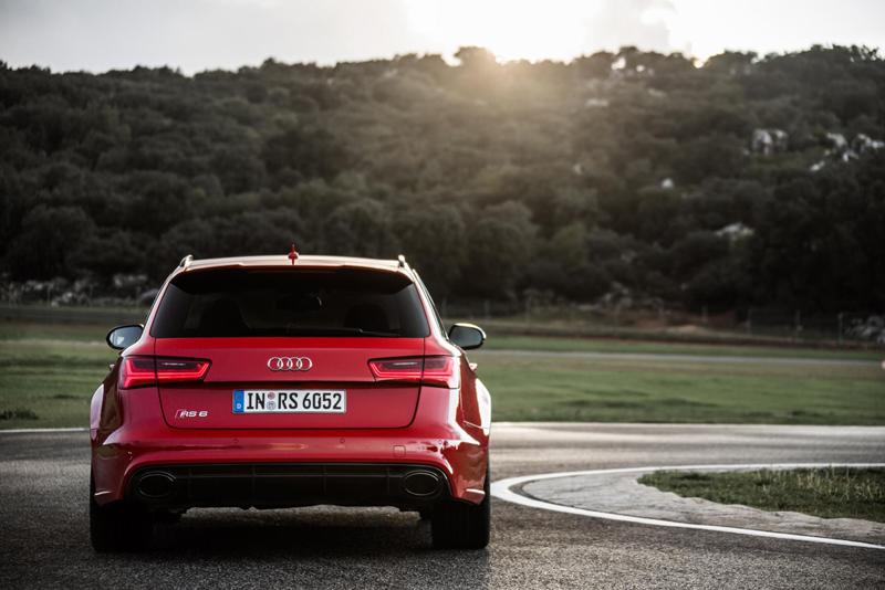 Foto Trasera Audi Rs6 Familiar 2014