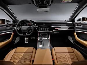 galeria de fotos audi rs6 2019 - interiores