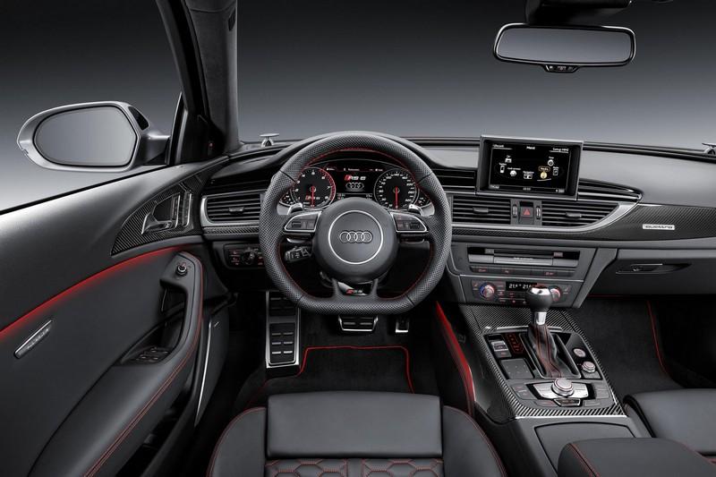Foto Salpicadero Audi Rs6 Performance Familiar 2016