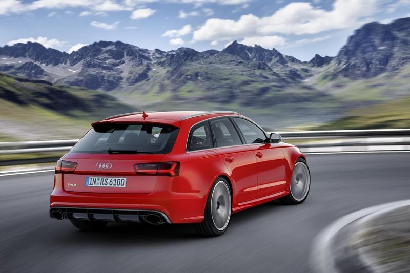 Foto Trasera Audi Rs6 Performance Familiar 2016
