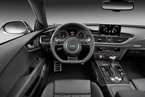 galeria de fotos audi rs7 2013 - interiores
