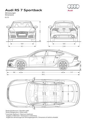Foto Tecnicas Audi Rs7 Cupe 2013