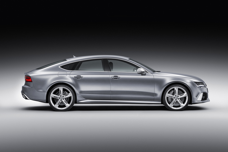 Foto Lateral Audi Rs7 Cupe 2013