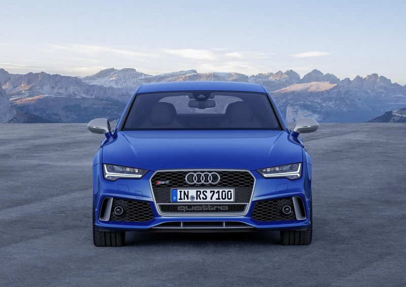 Foto Delantera Audi Rs7 Performance Berlina 2016