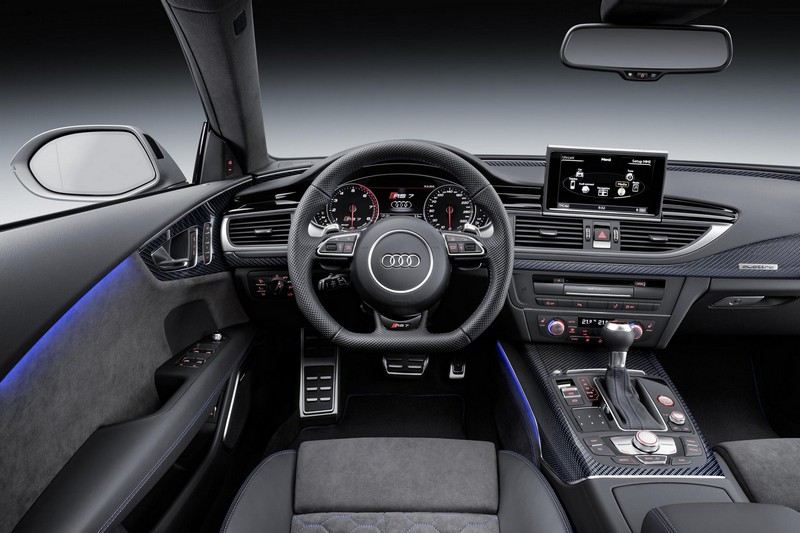 Foto Salpicadero Audi Rs7 Performance Berlina 2016