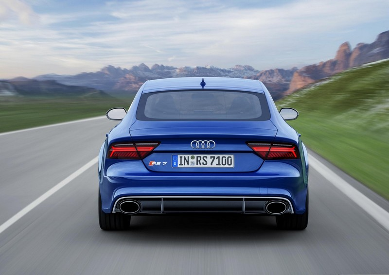 Foto Trasera Audi Rs7 Performance Berlina 2016