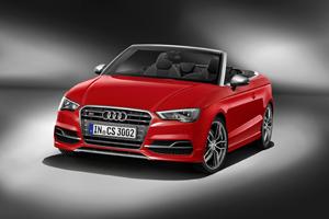 Foto Frontal Audi S3 Descapotable 2014