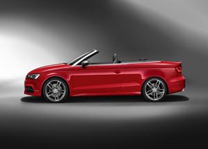 Foto Lateral Audi S3 Descapotable 2014