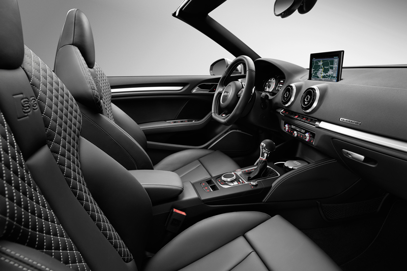 Foto Interior Audi S3 Descapotable 2014