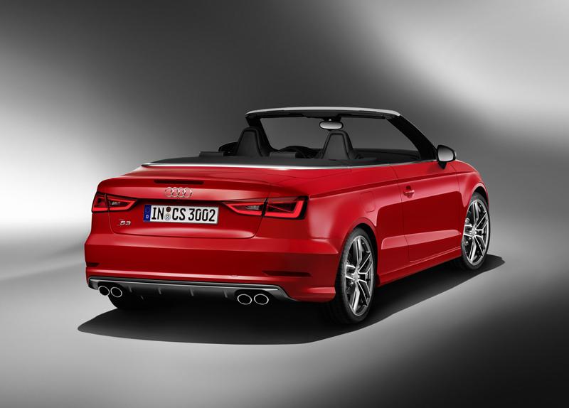 Foto Trasera Audi S3 Descapotable 2014