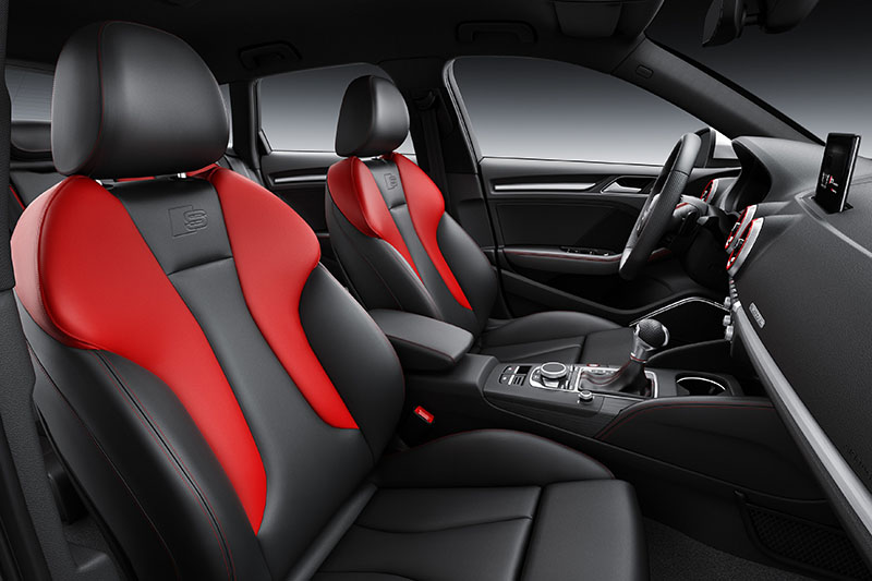 Foto Interiores Audi S3 Sportback Dos Volumenes 2016