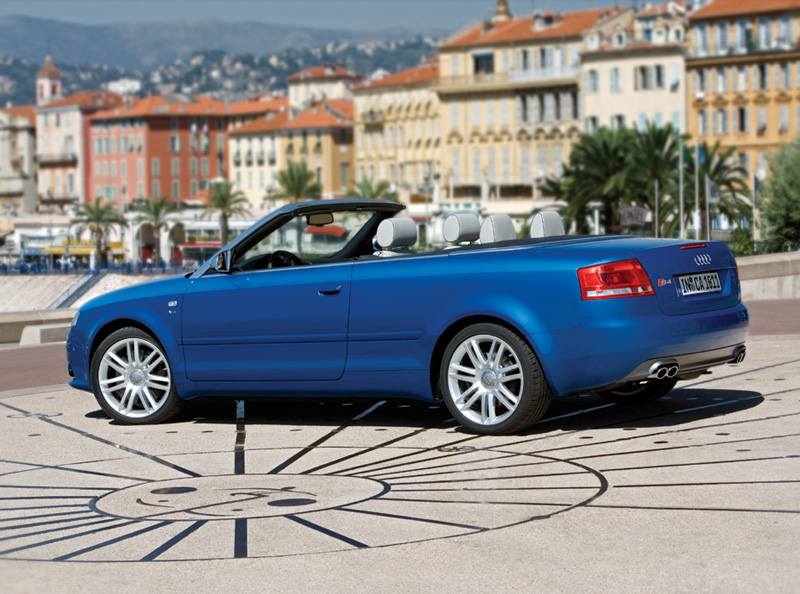 Foto Perfil Audi S4 Descapotable 2008