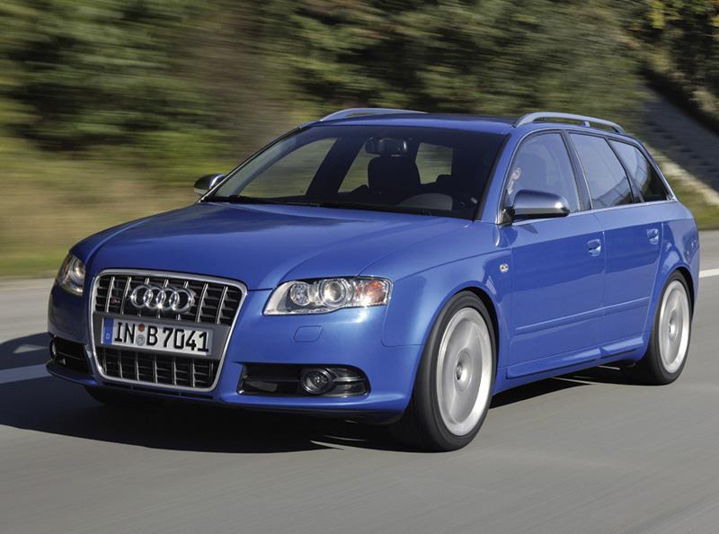 Foto Delantero Audi S4 Familiar 2008
