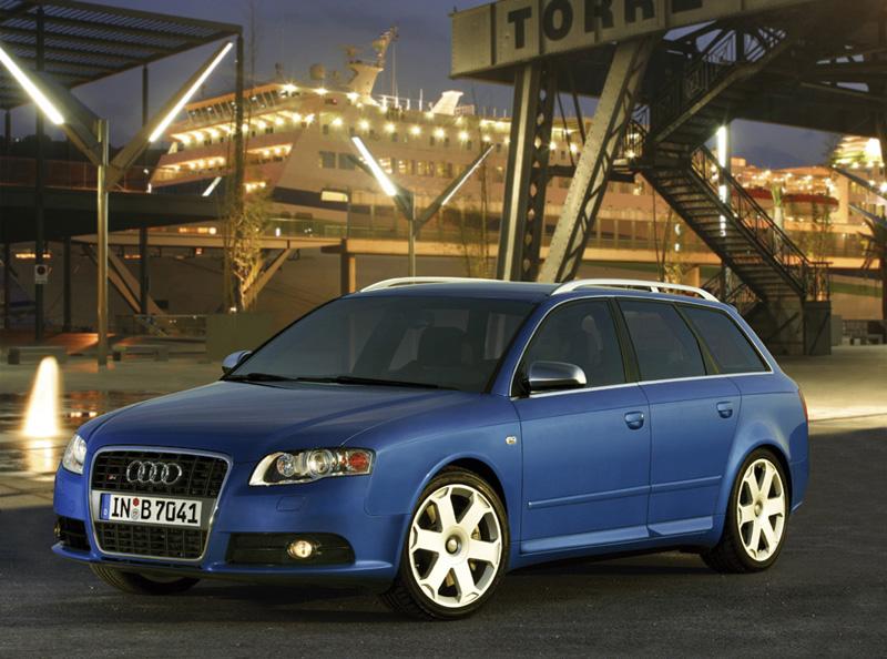 Foto Lateral Audi S4 Familiar 2008