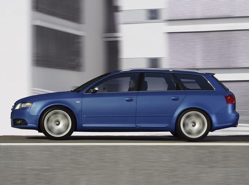 Foto Perfil Audi S4 Familiar 2008