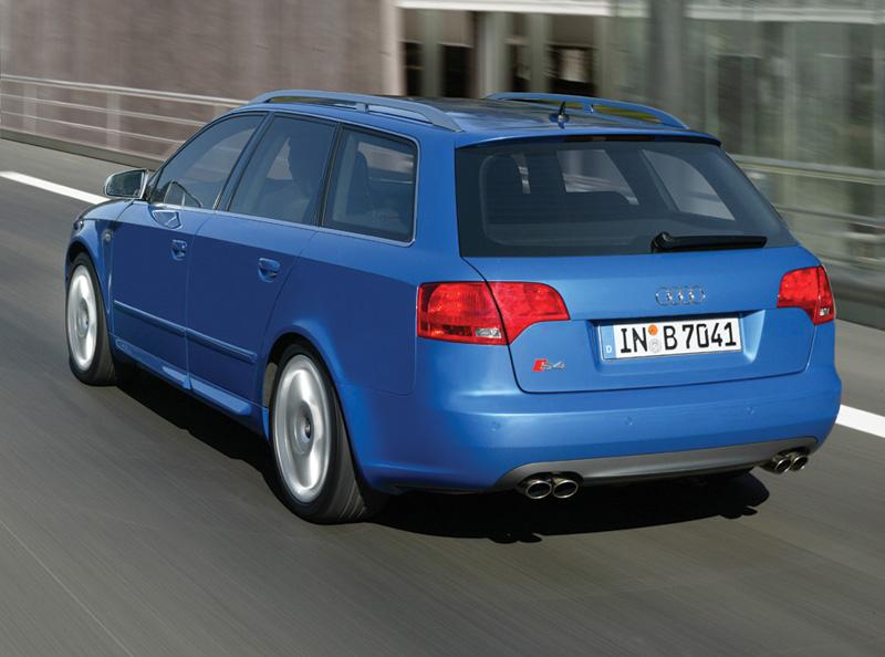 Foto Trasero Audi S4 Familiar 2008
