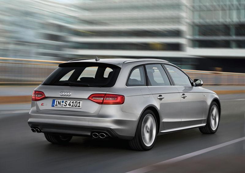 Foto Exteriores Audi S4 Familiar 2012