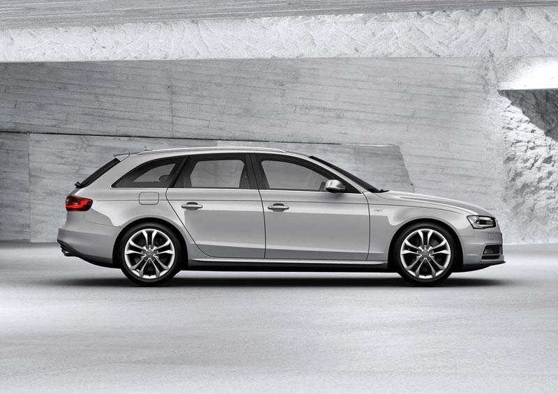 Foto Perfil Audi S4 Familiar 2012