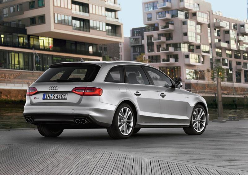 Foto Trasera Audi S4 Familiar 2012