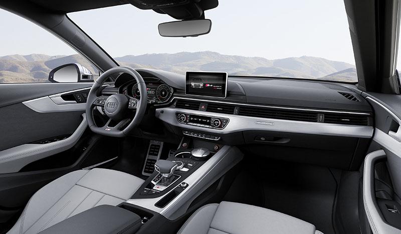 Foto Interiores Audi S4 Avant Familiar 2016