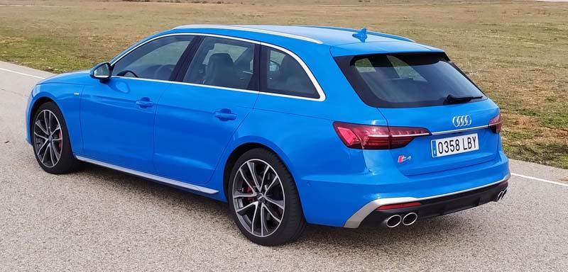 Audi S4 Avant quattro tiptronic 2020, foto trasera
