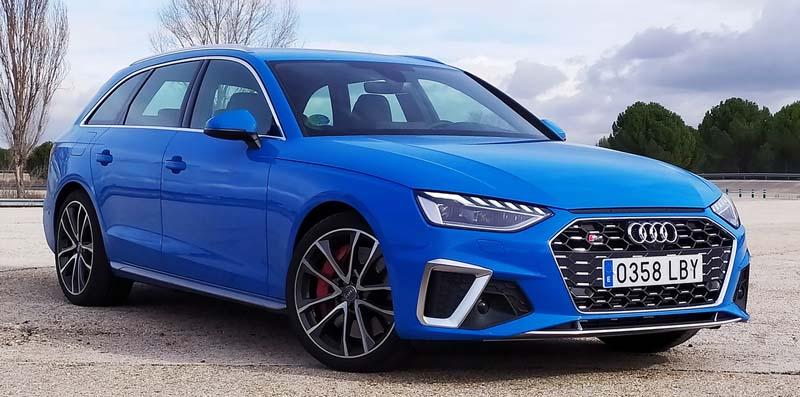 Audi S4 Avant 2020, foto delantera