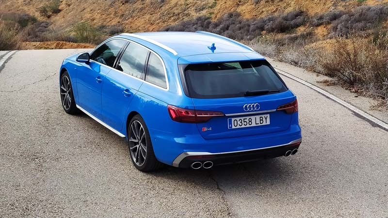 Audi S4 Avant 2020, foto trasera