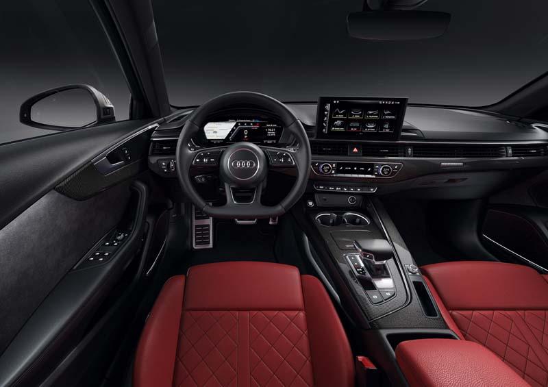 Audi S4 Avant 2020, foto salpicadero