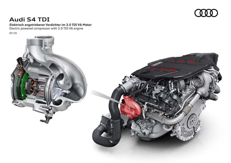 Audi S4 Avant 2020, foto motor