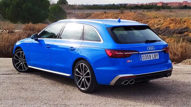 Foto Trasera Audi S4 Avant Familiar 2020