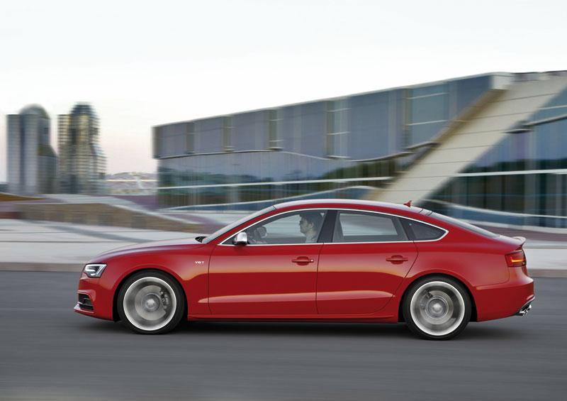 Foto Perfil Audi S5 Cupe 2012