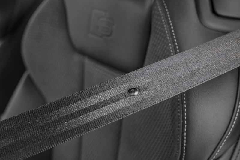 Audi S5 Cabrio 2017, foto cinturones de seguridad