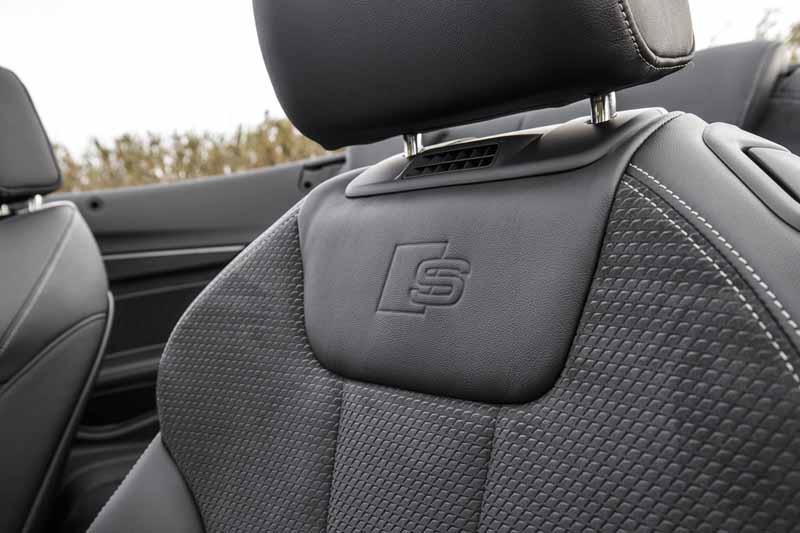 Foto Detalles Audi S5 Descapotable 2017