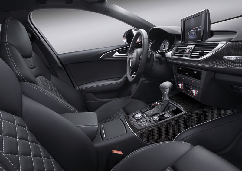 Foto Interiores Audi S6 Sedan 2012
