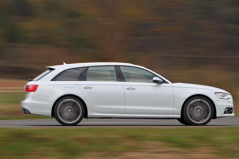 Foto Perfil Audi S6 Sedan 2012