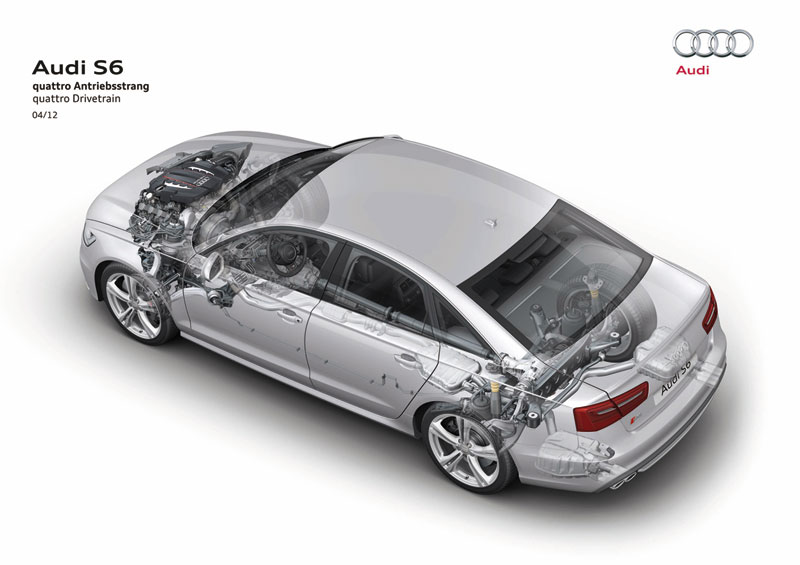 Foto Tecnicas Audi S6 Sedan 2012