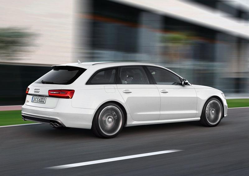Foto Trasera Audi S6 Sedan 2012