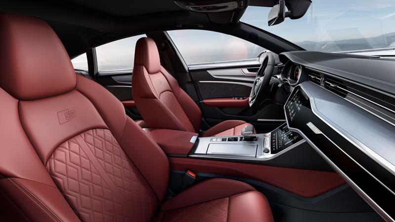 Audi S7 Sportback TDI, foto butacas delanteras