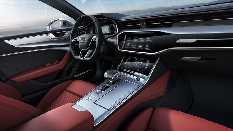 Audi S7 Sportback TDI, foto salpicadero
