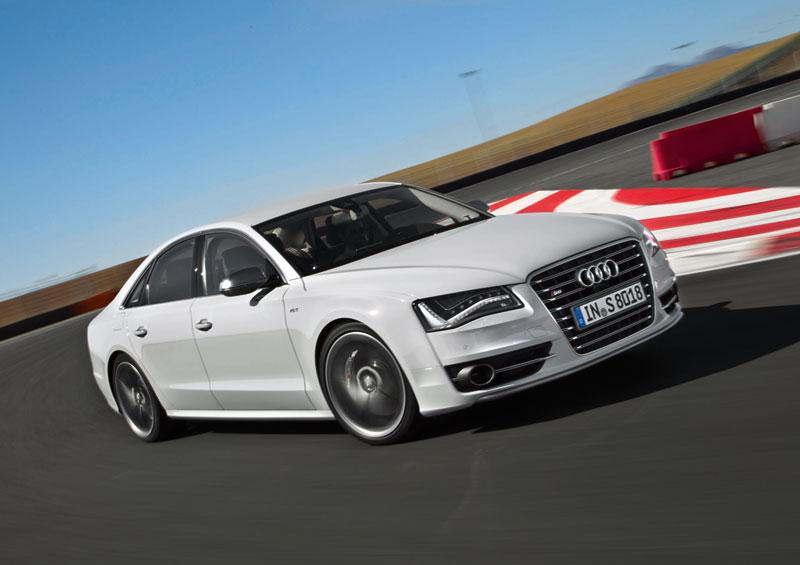 Foto Delantera Audi S8 Sedan 2012