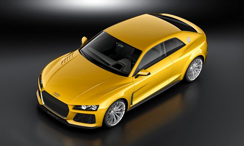 Audi Sport quattro concept en el Salón de Frankfurt 2013