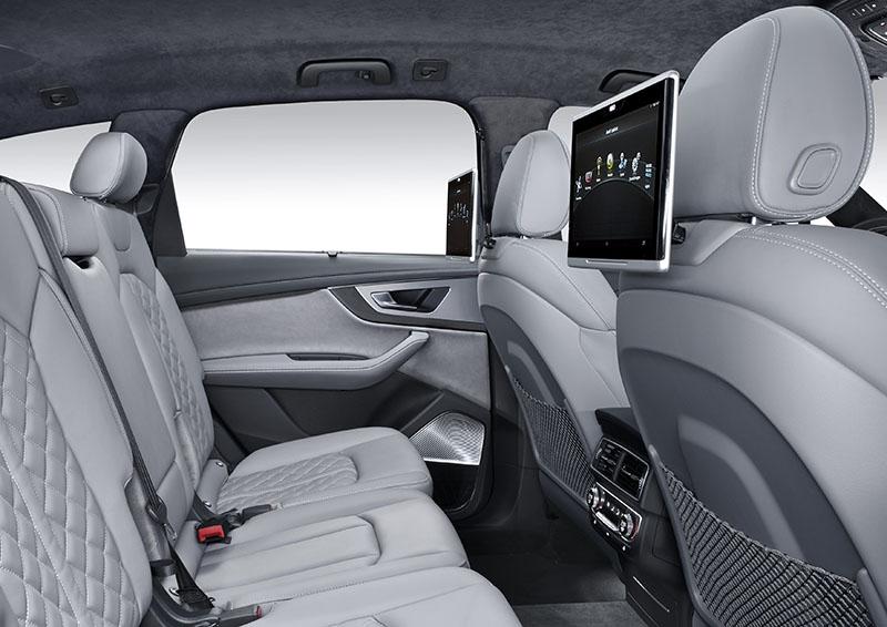 Foto Interiores Audi Sq7 Suv 2016