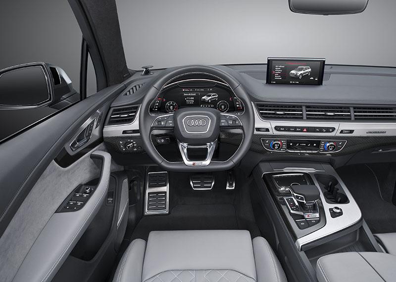 Foto Salpicadero Audi Sq7 Suv 2016