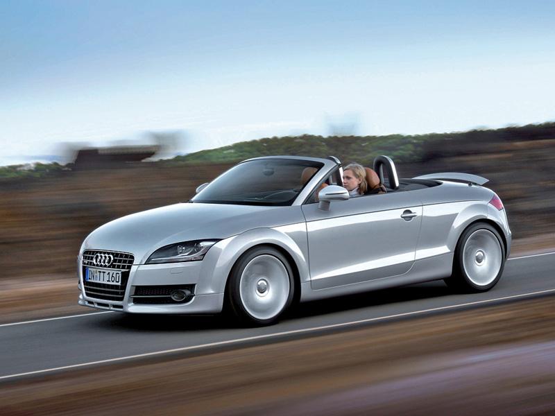 Foto Lateral Audi Tt Descapotable 2009