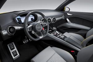 Foto Salpicadero Audi Tt-offroad-concept Suv Todocamino 2014