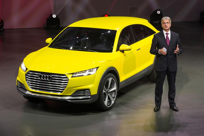 Foto Exteriores Audi Tt Offroad Concept Suv Todocamino 2014